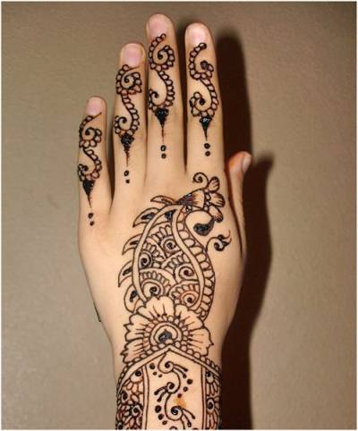 arabic mehndi design 2015