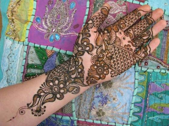 mehndi for bride