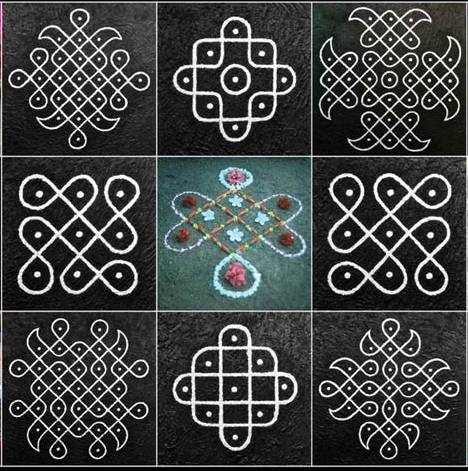 kolam designs ideas