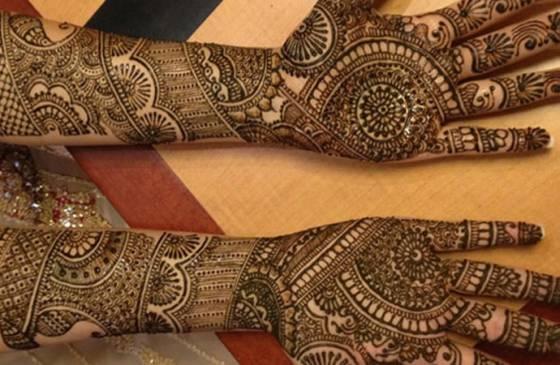 Mehndi Designs Grand : Mehndi design for hands part