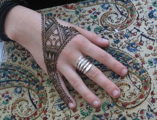 mehendi for girl