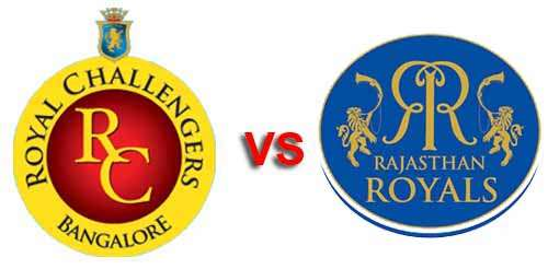 bangalore vs rajasthan live coverage