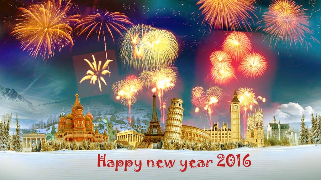 Happy New Year 2016 Images, Wallpapers, Photos and Greetings
