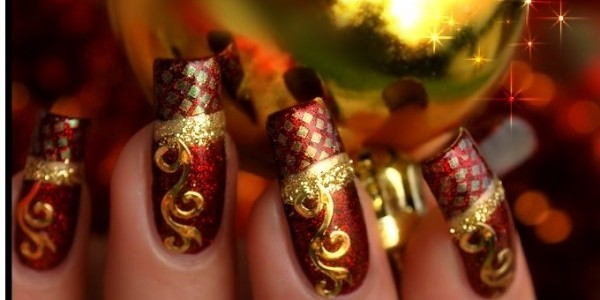 Party Wear nail art