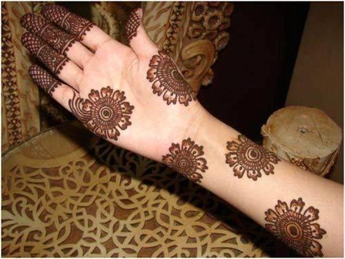 arabic mehendi design for hands