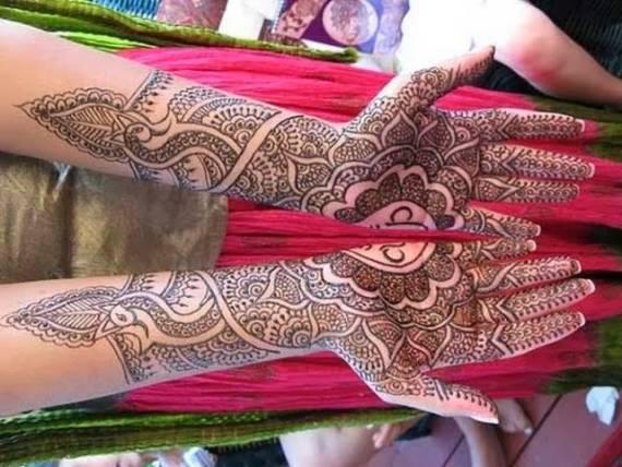 mehndi desing for marriage
