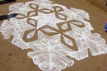 kolam design sample