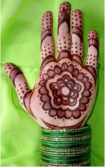 mehendi designs pattern