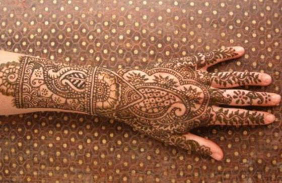 rajasthani mehendi for hands