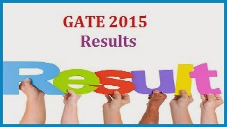 results of gate 2015 exam