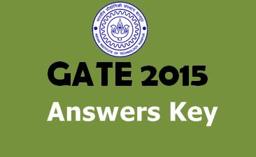 gate 2015 answer key