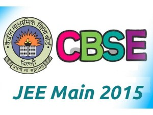 JEE Main 2015 by CBSE