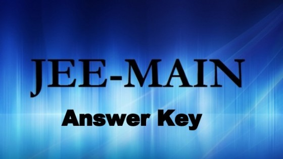 Jee Main Answer Key 2015
