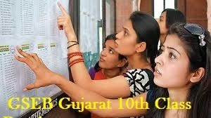 GSEB SSC 10th Result 2015