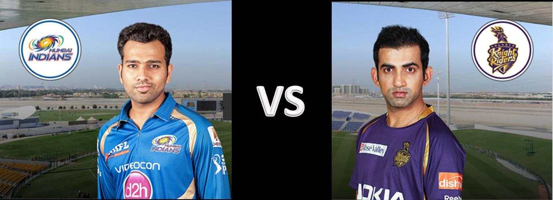 Mumbai Indians vs Kolkata Knight Riders IPL 2015