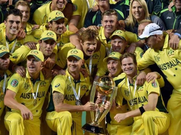 australia team odi ranking 2015