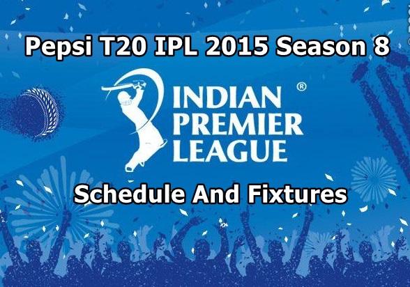 ipl 2015 season 8