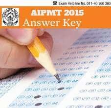 aipmt answer key 2015