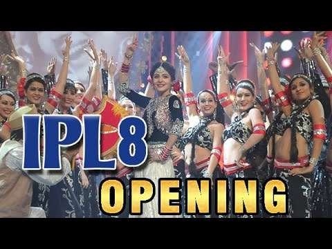Indian Premiere League opening ceremony