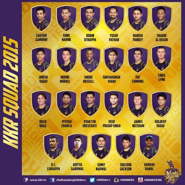 Kolkata Knight Riders IPL 8
