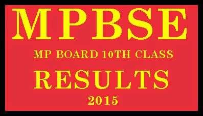 MP Board Result 2015