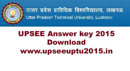 upsee answer key 2015