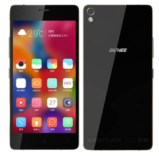 Gionee Elife S7 features