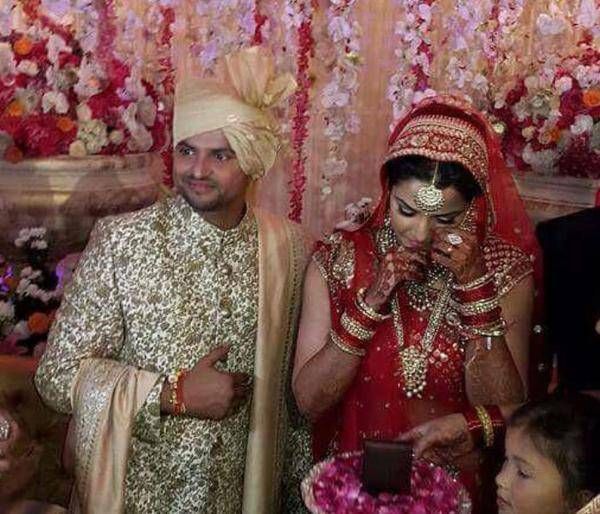 suresh raina wedding pic
