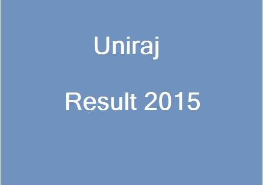 university of rajasthan result 2015