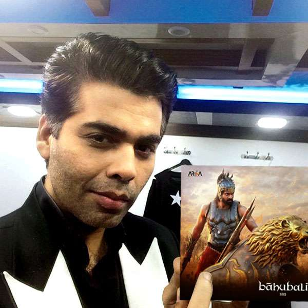 bahubali hindi make in karan johar's hands