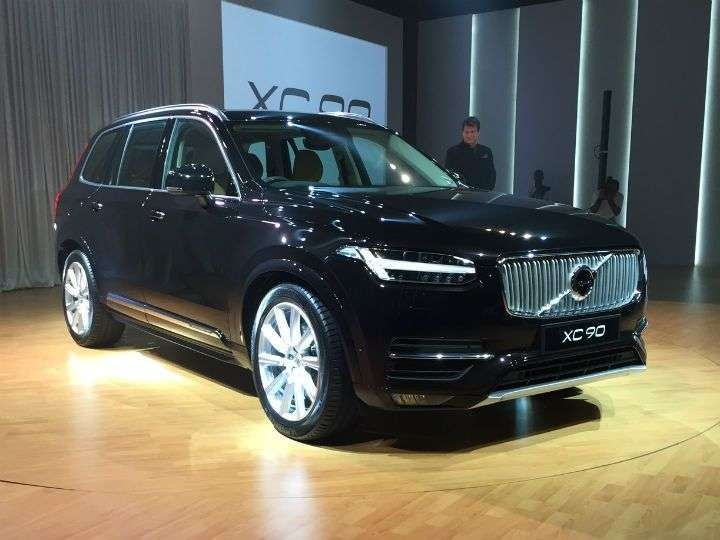 new volvo launched in india