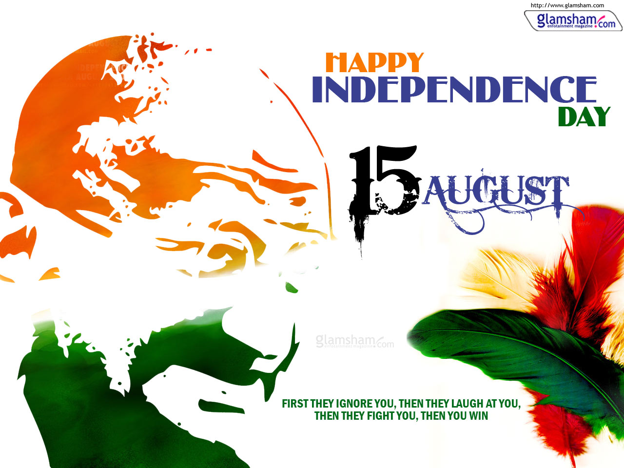 Happy Independence Day Greetings, wallpapers, Images and Facebook Covers