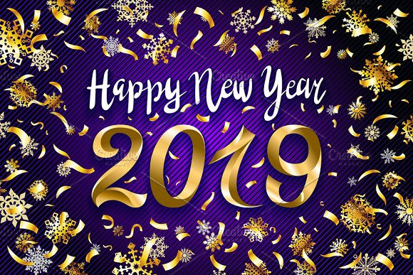 Happy New Year 2019 Images, Wallpapers, Themes and Greetings